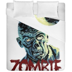 Zombie Duvet Cover Double Side (california King Size) by Valentinaart