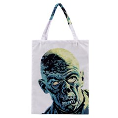 Zombie Classic Tote Bag by Valentinaart