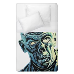 Zombie Duvet Cover (single Size) by Valentinaart