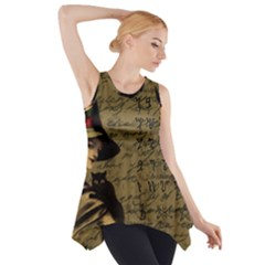 Witchcraft Vintage Side Drop Tank Tunic by Valentinaart