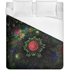 Shapes Circles Flowers  Duvet Cover (california King Size) by amphoto