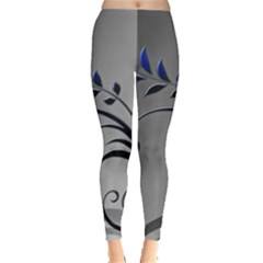 Patterns Lines Colorful  Leggings  by amphoto