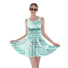 Belicious World Curvy Girl Wordle Skater Dress by beliciousworld