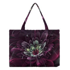 Flower Burst Background  Medium Tote Bag by amphoto