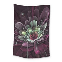 Flower Burst Background  Small Tapestry by amphoto