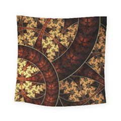 Patterns Line Pattern  Square Tapestry (small) by amphoto