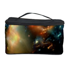Explosion Sky Spots  Cosmetic Storage Case by amphoto
