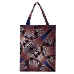 Lines Patterns Background  Classic Tote Bag by amphoto