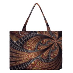 Patterns Background Dark  Medium Tote Bag by amphoto