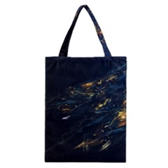 Spots Dark Lines Glimpses 3840x2400 Classic Tote Bag by amphoto