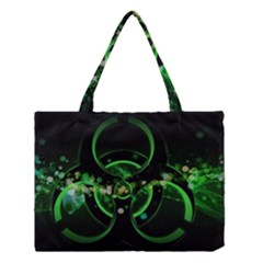 Radiation Sign Spot  Medium Tote Bag by amphoto