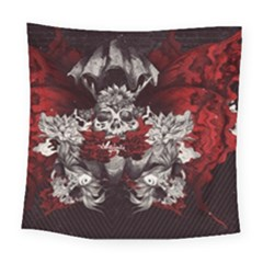Patterns Bright Background  Square Tapestry (large) by amphoto