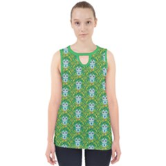 Medusa Cut Out Tank Top