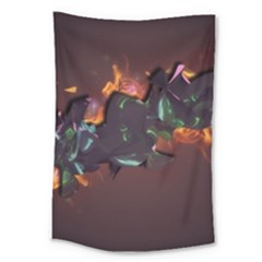 Abstraction Patterns Stripes  Large Tapestry by amphoto