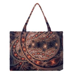 Fractal Patterns Abstract  Medium Tote Bag by amphoto