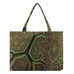 Fractal Weave Shape  Medium Tote Bag by amphoto