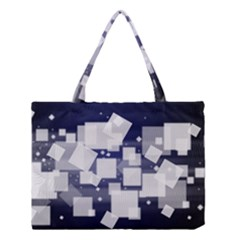 Squares Shapes Many  Medium Tote Bag by amphoto