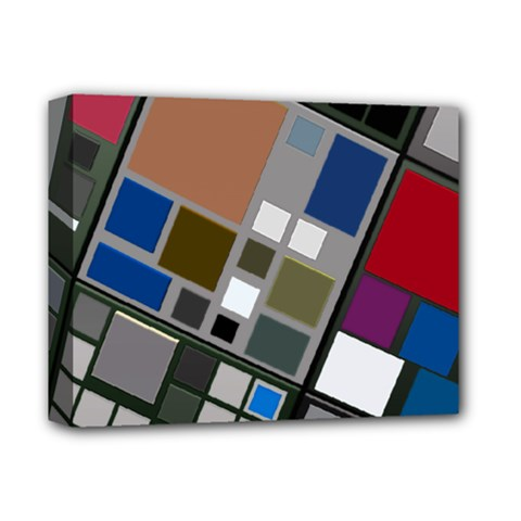 Abstract Composition Deluxe Canvas 14  X 11  by Nexatart