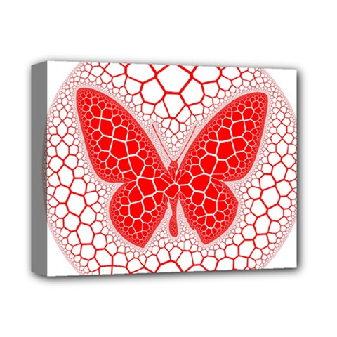 Butterfly Deluxe Canvas 14  X 11  by Nexatart