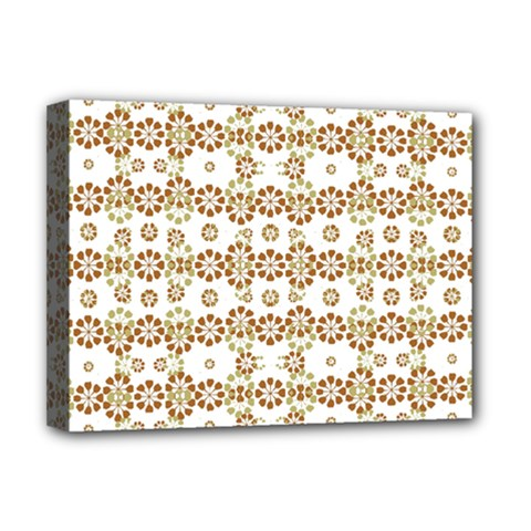 Multicolor Graphic Pattern Deluxe Canvas 16  X 12   by dflcprints