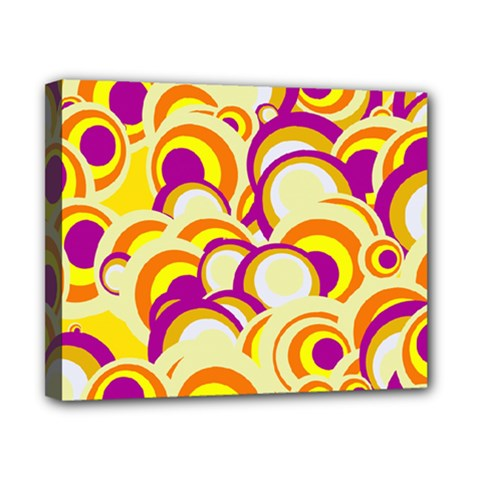 Retro Pattern 1973f Canvas 10  X 8  by MoreColorsinLife