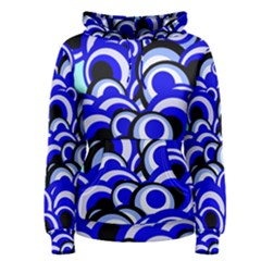 Retro Pattern 1973e Women s Pullover Hoodie by MoreColorsinLife