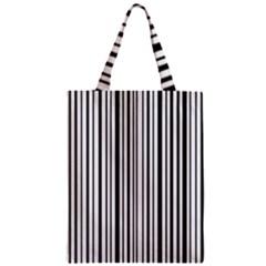 Barcode Zipper Classic Tote Bag by stockimagefolio1
