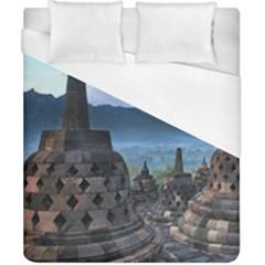 Borobudur Temple  Morning Serenade Duvet Cover (california King Size)