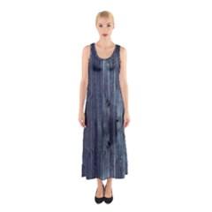 Grey Fence 2 Sleeveless Maxi Dress by trendistuff