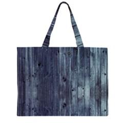Grey Fence 2 Zipper Large Tote Bag by trendistuff