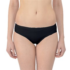 Black Hipster Bikini Bottoms by theunrulyartist