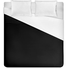 Black Duvet Cover (king Size) by theunrulyartist