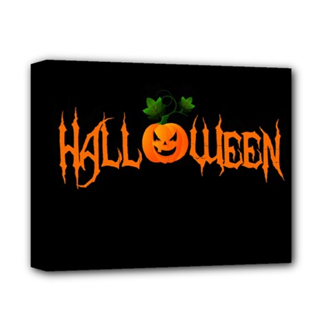 Halloween Deluxe Canvas 14  X 11  by Valentinaart