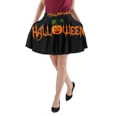 Halloween A Line Pocket Skirt by Valentinaart