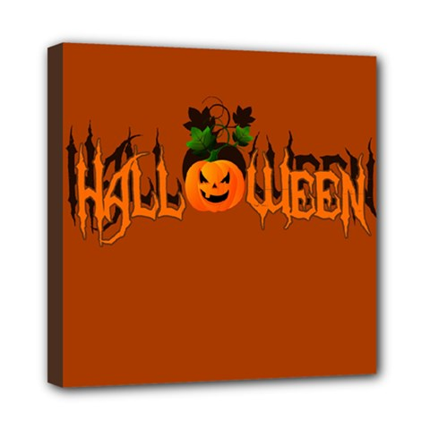 Halloween Mini Canvas 8  X 8  by Valentinaart