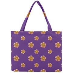 Ditsy Floral Pattern Design Mini Tote Bag by dflcprints
