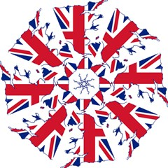 Britain Flag England Nations Hook Handle Umbrellas (medium) by Mariart