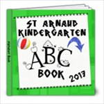 2017 Kinda ABC book - 8x8 Photo Book (30 pages)