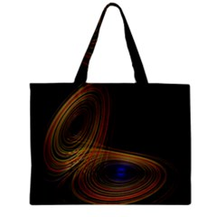 Wondrous Trajectorie Illustrated Line Light Black Mini Tote Bag by Mariart