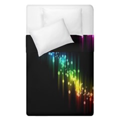 Illustration Light Space Rainbow Duvet Cover Double Side (single Size) by Mariart