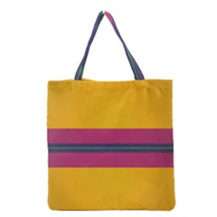 Layer Retro Colorful Transition Pack Alpha Channel Motion Line Grocery Tote Bag by Mariart