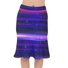 Massive Flare Lines Horizon Glow Particles Animation Background Space Mermaid Skirt by Mariart