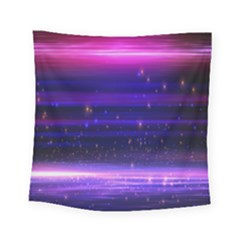 Massive Flare Lines Horizon Glow Particles Animation Background Space Square Tapestry (small) by Mariart