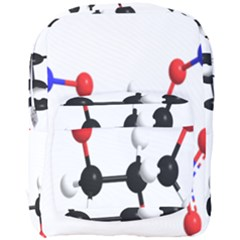 Nitroglycerin Lines Dna Full Print Backpack by Mariart
