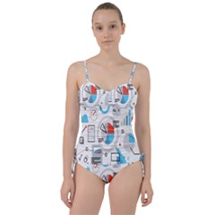 Science Mathematics Formula Sweetheart Tankini Set by Mariart