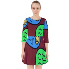Version Colors Transparent Elements Emoticons Alpha Transparency Smock Dress