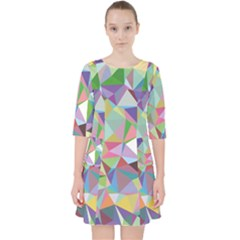 Mosaic Pattern 5 Pocket Dress by tarastyle