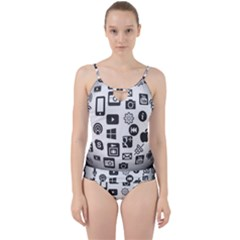 Icon Ball Logo Google Networking Cut Out Top Tankini Set
