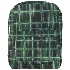 Matrix Earth Global International Full Print Backpack by Nexatart