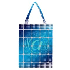 Tile Square Mail Email E Mail At Classic Tote Bag by Nexatart